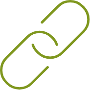 Green Chain Link Icon