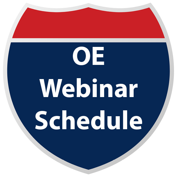 Open Enrollment Webinar Schedule
